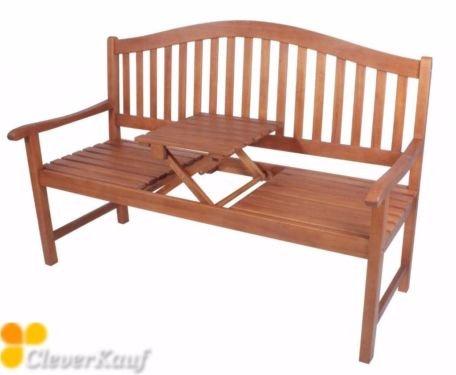 Utah Gartenbank 3-Sitzer aus Eukalyptus FSC® 100%
